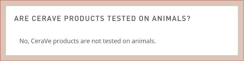 cerave animal testing policy