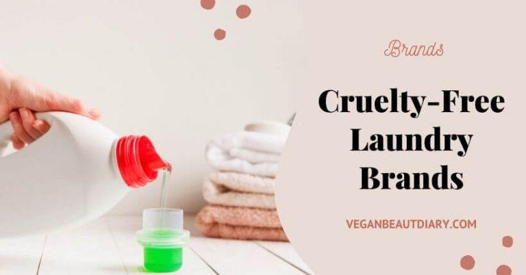 Vegan & Cruelty-Free Laundry Brands