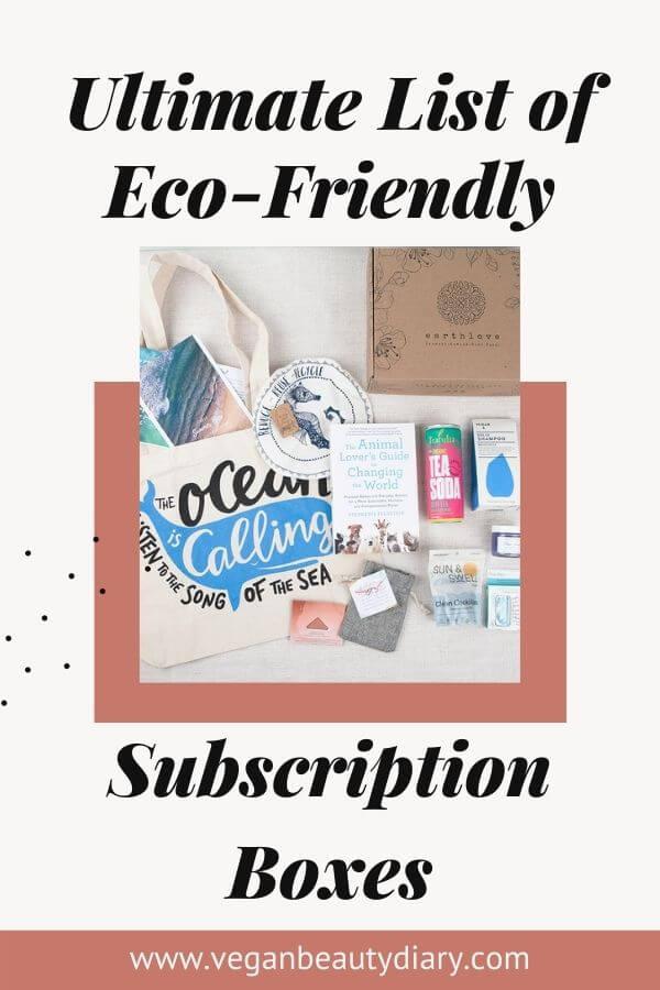 eco-friendly subscription box