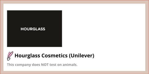 hourglass cosmetics peta