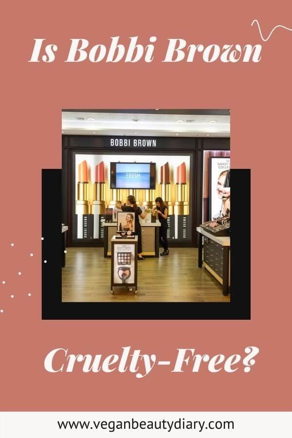 is bobbi brown cruelty-free