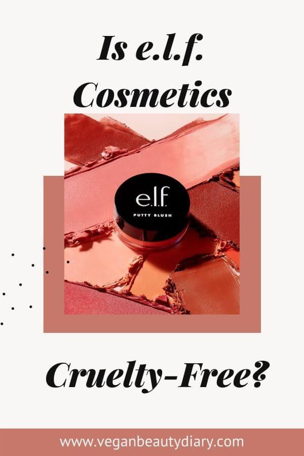 is elf cosmetics cruelty-free