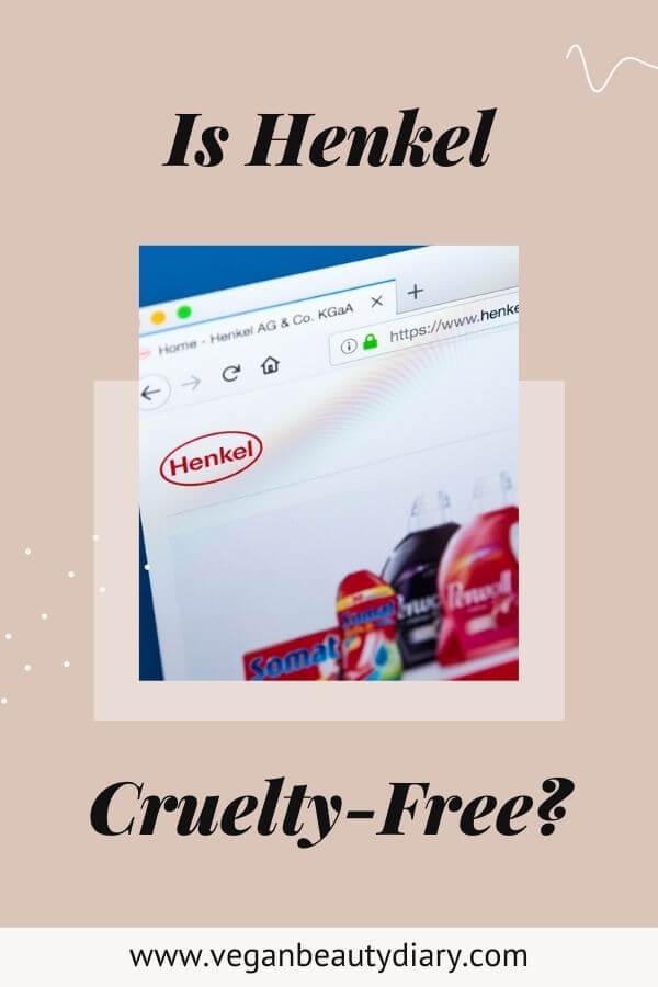 is henkel cruelty-free