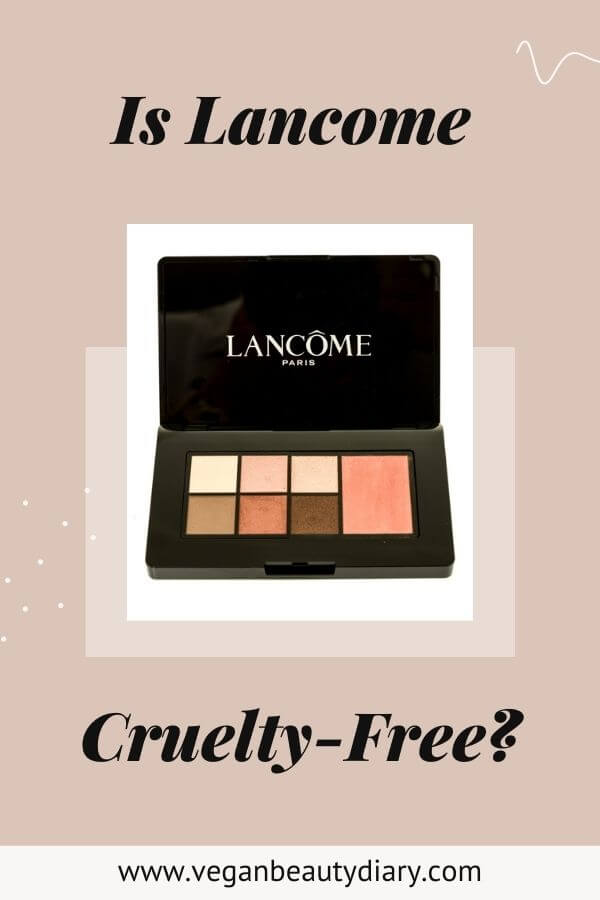 is lancome cruelty-free