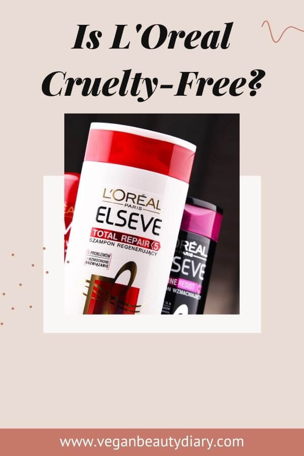 is loreal cruelty-free