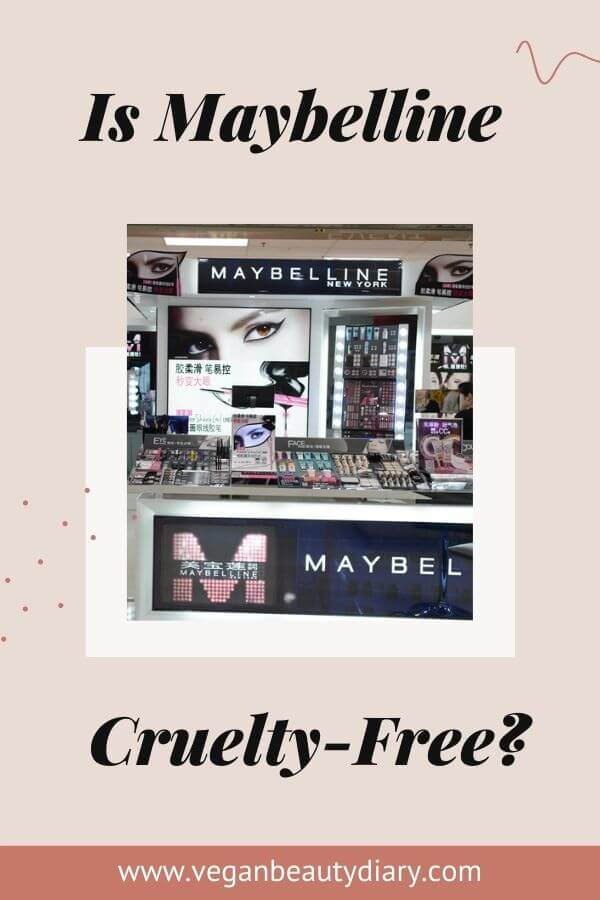 is maybelline cruelty-free