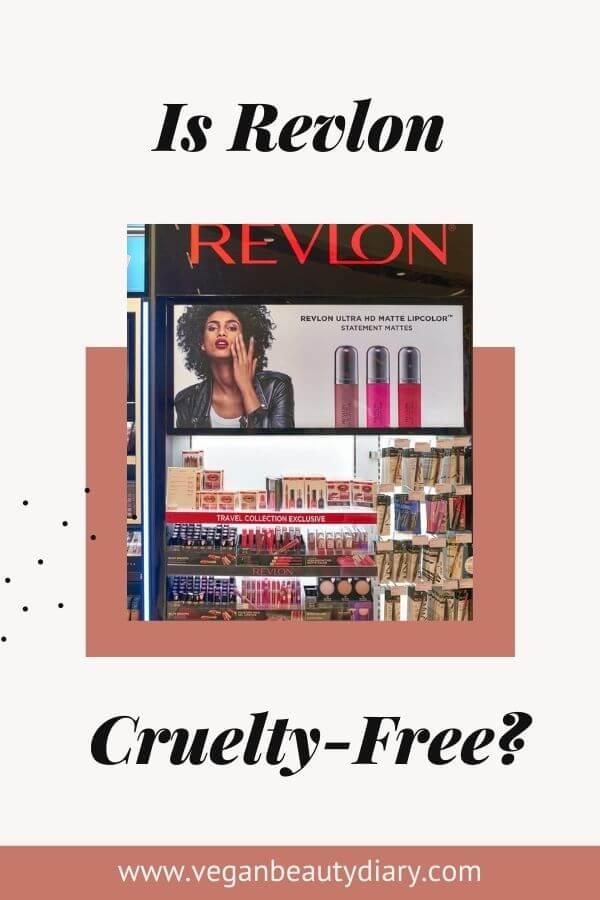 is revlon cruelty-free