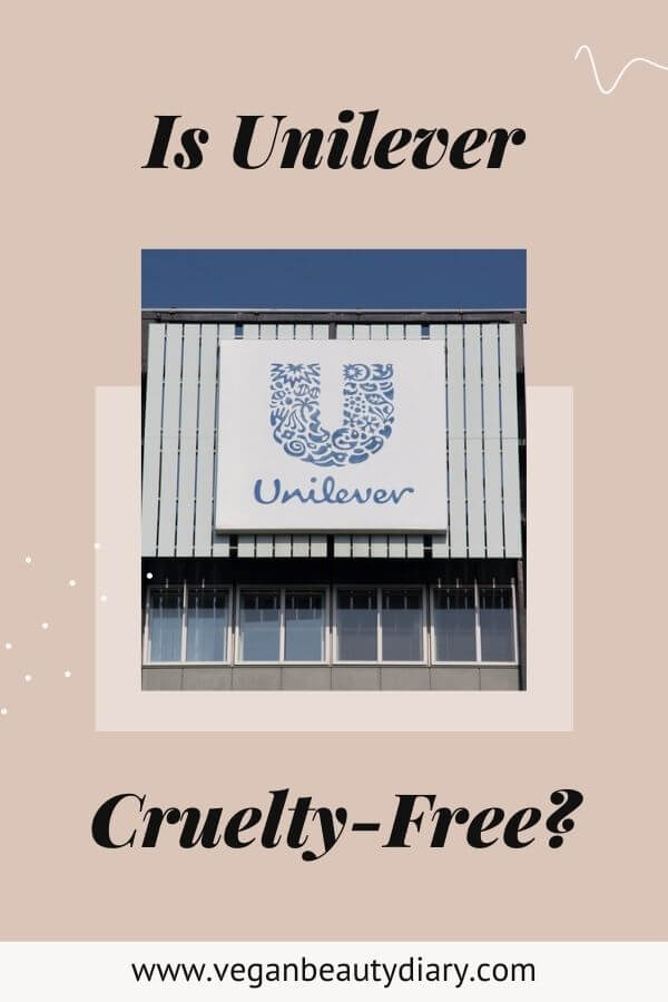 is unilever cruelty-free